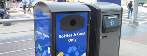 New LMA Outdoor Recycling Bins
