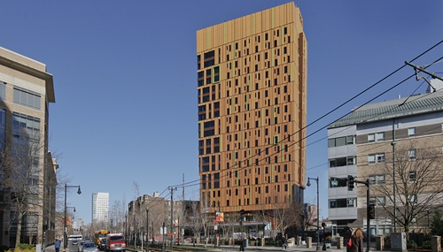 Massart Residence Hall Story This Is The House That